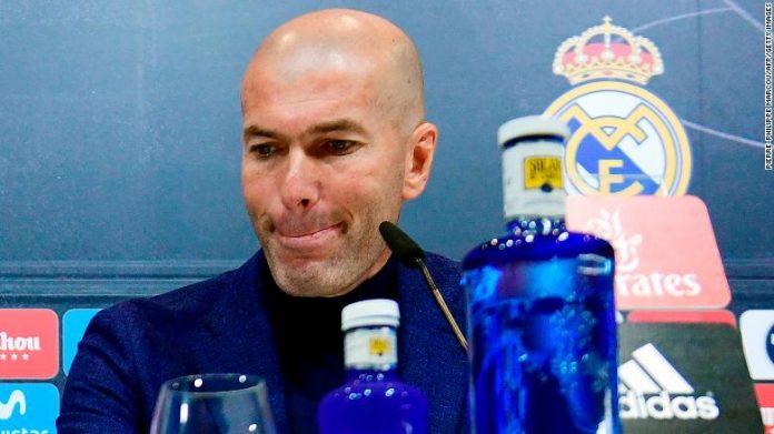 Zinedine Zidane a plecat de la Real Madrid