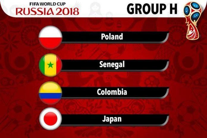 rusia 2018, faza grupelor, grupa h, optimi,