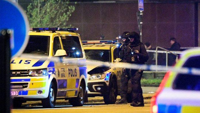 atac armat, malmo, suedia, patru raniti