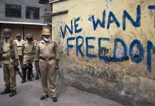 politisti raniti, kashmir, india, atac grenada