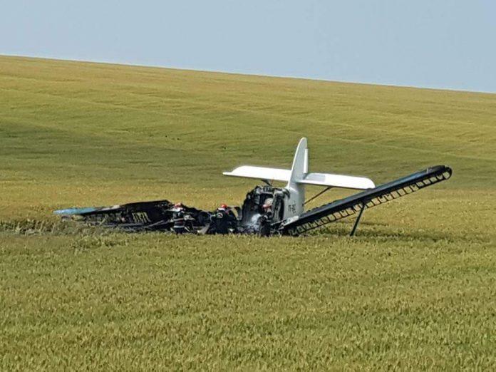 aterizare urgenta, galati, avion utilitar
