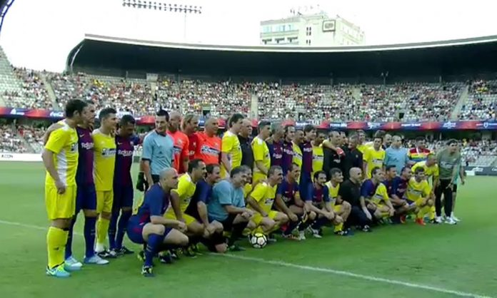 barca legends, cluj arena, generatia de aur, sports events