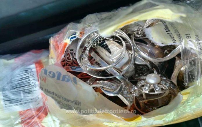 bijuterii argint, politie frontiera, iasi, cetatean moldovean