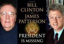 bill clinton, thriller politic, lansare, the president is missing