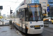 ratb, lucrari, delimitare tramvaie, trafic rutier, tramvai 1