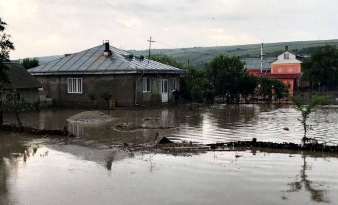 femeie moarta, inundatii, botosani