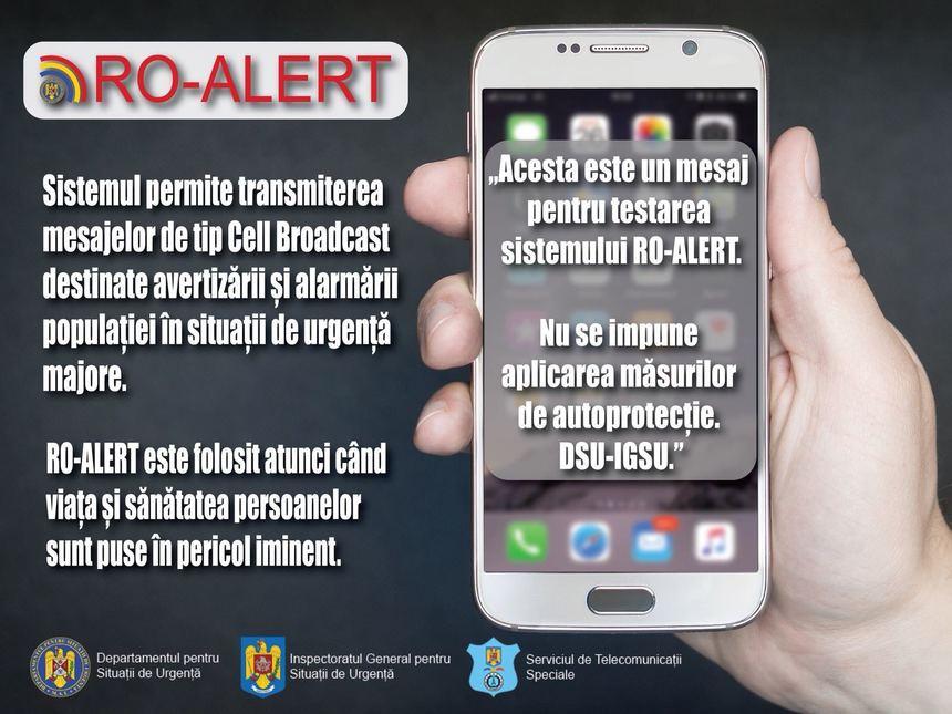 igsu, ro alert, mesaj alerta, telefon mobil