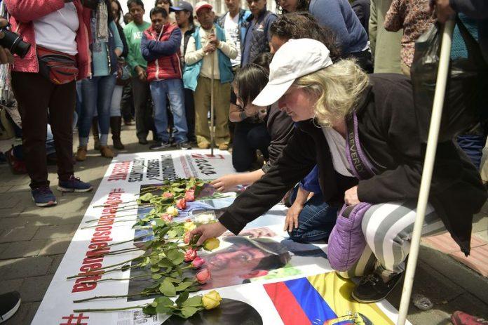 jurnalisti executati, jurnalisti ingropati, farc, ecuador