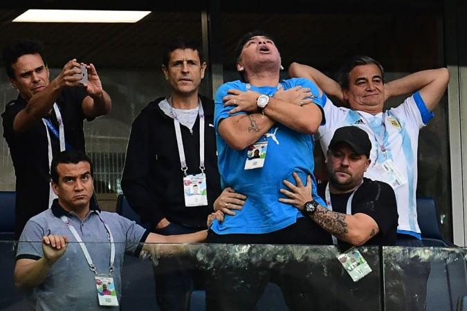 rusia 2018, maradona, spital, calificare, argentina