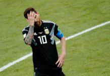 argentina messi islanda