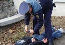 minori arestati, galati, spargeri