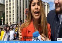 Julieth Gonzalez Theran, jurnalista agresata, cupa mondiala,