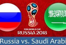 cm rusia 2018, rusia-arabia saudita, meci deschidere, statistica