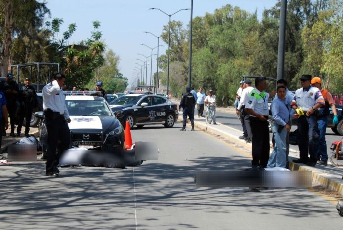 mexic, atac sangeros, salamanca, sase politisti morti