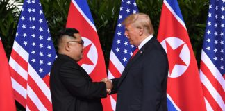 donald trump, kim jong un, summit, document, singapore, strangere mana, moment istoric