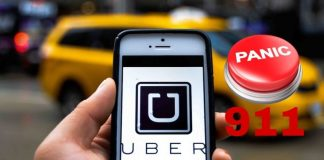 uber, masuri siguranta, buton panica