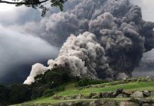 vulcan fuego, eruptie, guatemala,