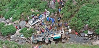 india, accident, 44 morti