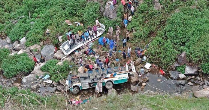 india, accident, 44 morti