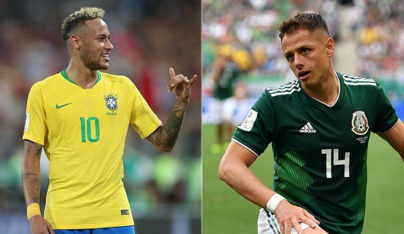 rusia 2018, optimi de finala, brazilia-mexic